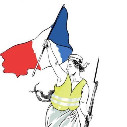 """Μια εικόνα χίλιες λέξεις: """"Γαλλία 2018!"""" - Δημήτρης Γεωργοπάλης,  Κώστας Γρηγοριάδης"""