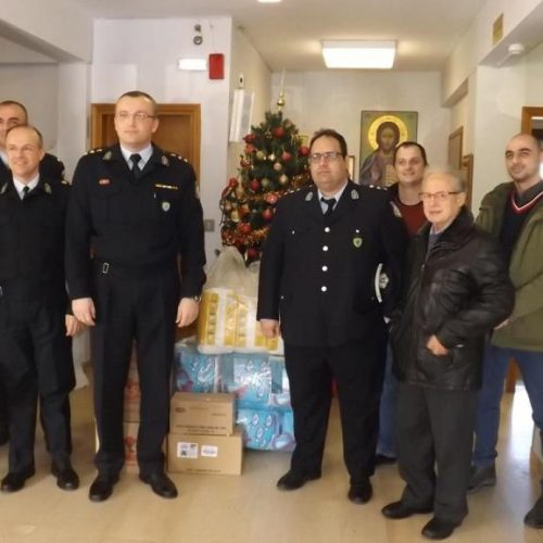 Εθελοντική προσφορά αστυνομικών  της  Κ. Μακεδονίας σε φιλανθρωπικά ιδρύματα