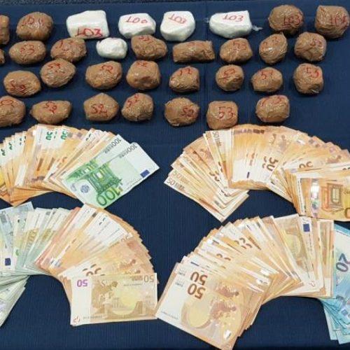 Μεγάλη επιτυχία της Ομάδας Δίωξης Ναρκωτικών του Τ. Α.  Βέροιας - Εντοπίστηκαν  σε κρύπτη κοκαΐνη  πάνω από 2 κιλά