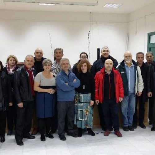 Συνάντηση στη Βέροια εκπροσώπων εννέα Συλλόγων Γ&Κ Μουσικών Σχολείων   Βόρειας Ελλάδας