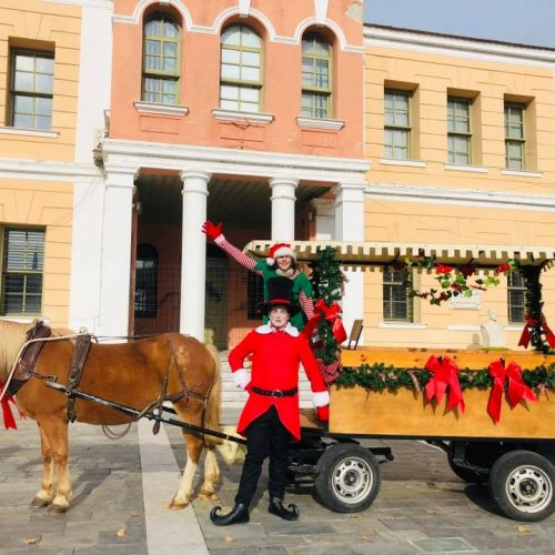 Ο Άγιος Βασίλης στη Βέροια θα μοιράσει γλυκά δώρα με το κάρο της αγάπης!