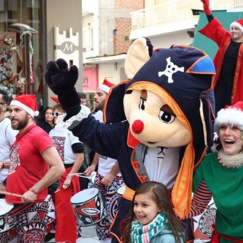 Ξεκίνησαν οι χριστουγεννιάτικες εκδηλώσεις  στη Βέροια -  Κλίμα γιορτής και χαράς