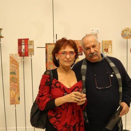 """Αστέρης Γκέκας """"Αυτοκρατορικά Παλίμψηστα"""" στο Πολυκεντρικό Μουσείο των Αιγών. Μια εικαστική τομή στο χρόνο"""
