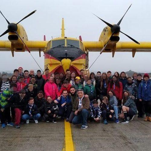 Επίσκεψη Προσκόπων στις Ειδικές Δυνάμεις της ΕΛΑΣ και στα Πυροσβεστικά Αεροπλάνα
