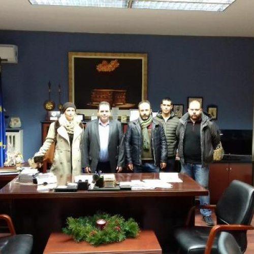 Συνάντηση του Κώστα Καλαϊτζίδη  με   εκπροσώπους του νεοσύστατου Αγροτικού Συλλόγου Ημαθίας