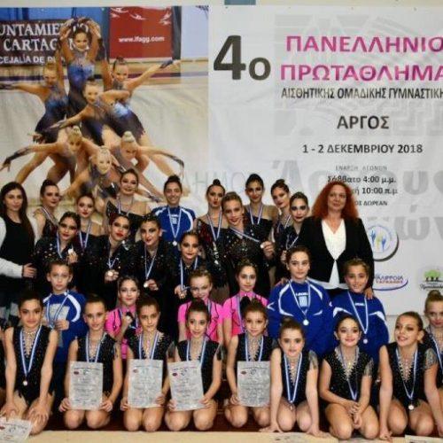 Δυο  χρυσά και δυο χάλκινα για τον Φίλιππο στους Πανελλήνιους  Αγώνες Αισθητικής Γυμναστικής!!!