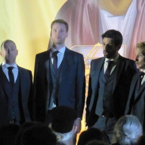 Οι Queen' s Six, ένα καταπληκτικό φωνητικό σύνολο, εντυπωσίασαν το κοινό της Βέροιας