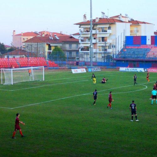 Ποδόσφαιρο: Π.Σ Βέροια - ΑΠΕ Λαγκαδά 2 -1