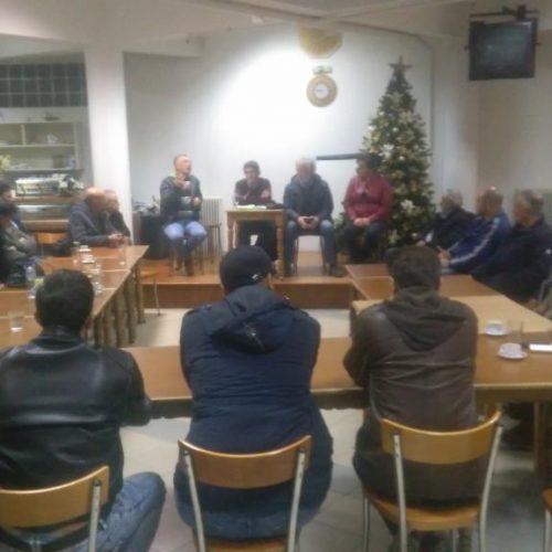 Πραγματοποιήθηκε στη Νάουσα σύσκεψη  αγροτικών συλλόγων Κεντρικής Μακεδονίας