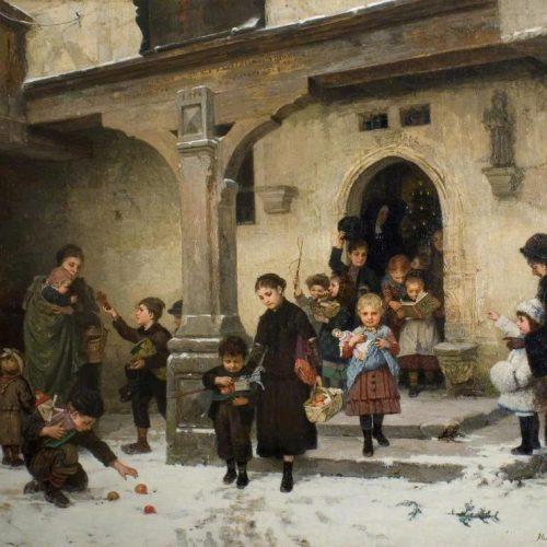 Διάσημοι πίνακες ζωγραφικής για τα Χριστούγεννα