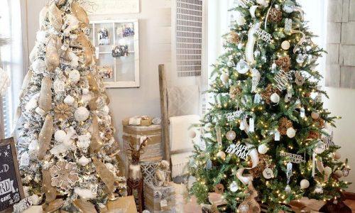 Χριστουγεννιάτικα Δέντρα  στολισμένα με έξυπνους τρόπους
