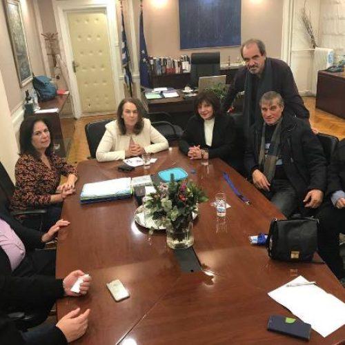 Συνάντηση Φρ. Καρασαρλίδου και Εκπροσώπων Συνεταιρισμών Οργανώσεων με την Υφυπουργό   Κ. Παπανάτσιου