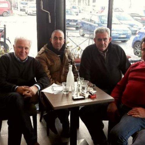Συνάντηση με εκπροσώπους του Συλλόγου Τευτλοπαραγωγών Κ.  Μακεδονίας είχε ο Βουλευτής Ημαθίας Γ. Ουρσουζίδης