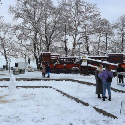 "Xιονισμένη Βέροια  - Εικόνες μιας ""άλλης"" πόλης"