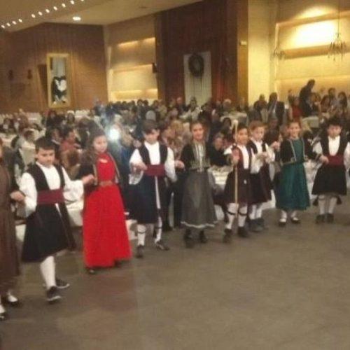Κοσμοσυρροή- και πάλι-  στο χορό  του  Συλλόγου Βλάχων  Βέροιας