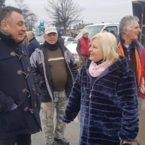Κοντά στους αγρότες η υποψήφια Δήμαρχος Βέροιας Γεωργία Μπατσαρά