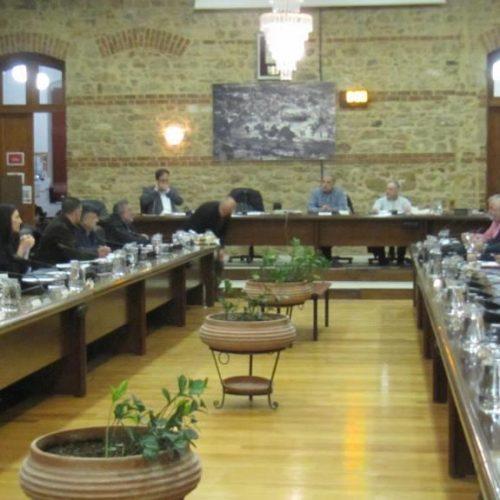 Το Μακεδονικό και το  συλλαλητήριο της Βέροιας στο επίκεντρο της  συνεδρίασης του Δημοτικού Συμβουλίου