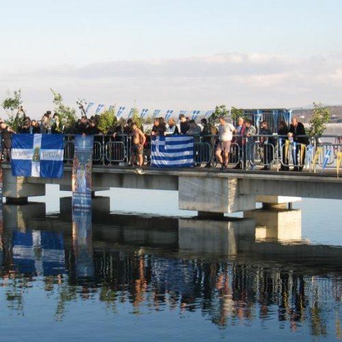 Ακυρώνεται η κατάδυση του Τιμίου Σταυρού στο φράγμα του Αλιάκμονα λόγω του παγετού