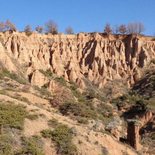 """""""Μπουχάρια"""" και """"Νοχτάρια"""": Πρωτότυποι γεωλογικοί χωμάτινοι σχηματισμοί  στο Ν. Κοζάνης"""