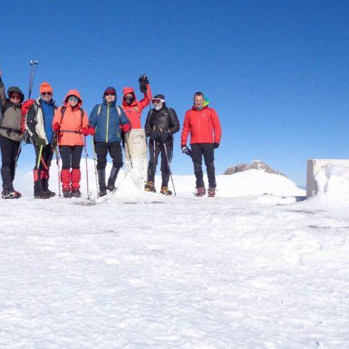 """Η Ορειβατική Ομάδα Βέροιας """"Τοτός"""" στον Όλυμπο   και Άγιο  Αντώνη"""