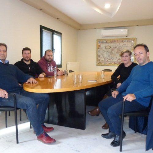 Συνάντηση Αγροτικού Συλλόγου Ημαθίας με τον πρόεδρο της ΕΚΕ   Κώστα Αποστόλου