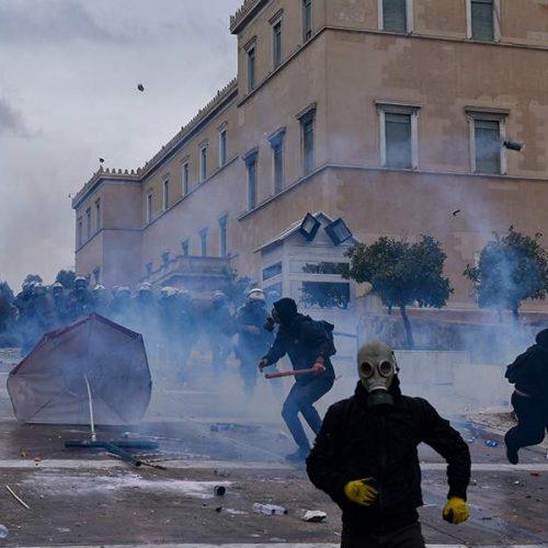 Επεισόδια και χημικά στο συλλαλητήριο  κατά της Συμφωνίας των Πρεσπών (photo -video)