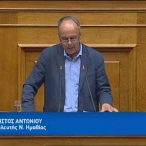 """Χρήστος Αντωνίου: """"Αν δεν είχαμε συμφωνία σε λίγα χρόνια θα επικρατούσε το σκέτο Μακεδονία"""""""