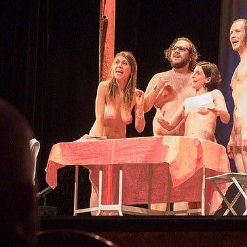Θέατρο με... γυμνούς ηθοποιούς αλλά και θεατές!