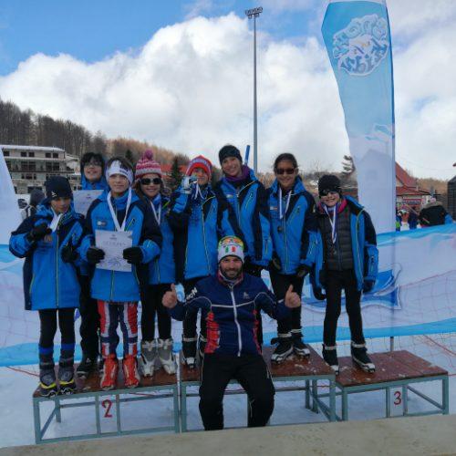 ΣΧΟ Βέροιας: Κύπελλο Ελλάδος Παμπαίδων Πανκορασίδων 2019 - Αποτελέσματα αγώνων Σκι Δρόμων Αντοχής