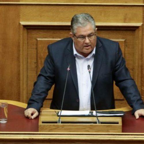 """Δημήτρης Κουτσούμπας:  """"Καταψηφίζουμε την κυβέρνηση που εξαπατά το λαό - Καταψηφίζουμε τη Συμφωνία των Πρεσπών"""""""