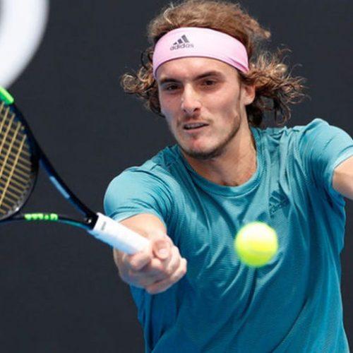 Τένις: Επική νίκη Τσιτσιπά - Κέρδισε το ίνδαλμά του