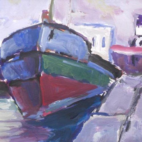 Έκθεση ζωγραφικής Στέλιου Ζαχαρούδη «Ένας ζωγράφος - τρεις ενότητες». Θεσσαλονίκη, εγκαίνια, Δευτέρα 25 Φεβρουαρίου