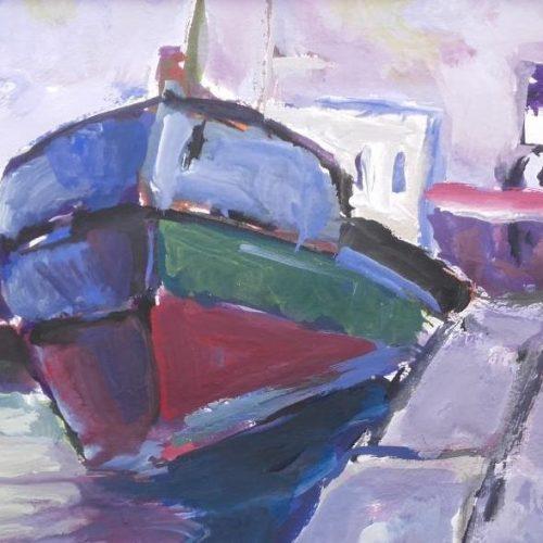Έκθεση ζωγραφικής Στέλιου Ζαχαρούδη «Ένας ζωγράφος - τρεις ενότητες». Θεσσαλονίκη,   25/2/'19