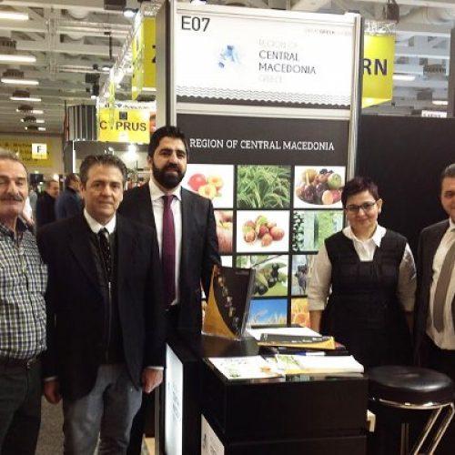 Ο Κώστας Καλαϊτζίδης στη Fruit Logistica του Βερολίνου