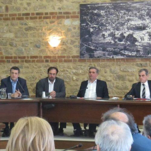 Το Περιφερειακό Συμβούλιο Κ. Μακεδονίας συνεδρίασε στη Βέροια -  Κεντρικό θέμα η  «Αμάλθεια»