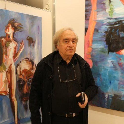 Στέλιος Ζαχαρούδης «Ένας ζωγράφος – Τρεις ενότητες». Εγκαίνια μιας εντυπωσιακής   έκθεσης