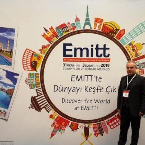 """Ο Δήμος Βέροιας στην Διεθνή Έκθεση Τουρισμού  της Κωνσταντινούπολης """"EMITT"""""""