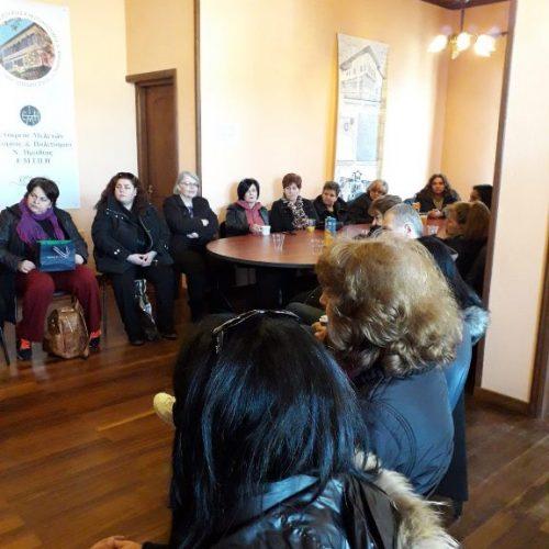 Οι σχολικοί  τροχονόμοι Δήμου  Βέροιας  έκοψαν τη βασιλόπιτα