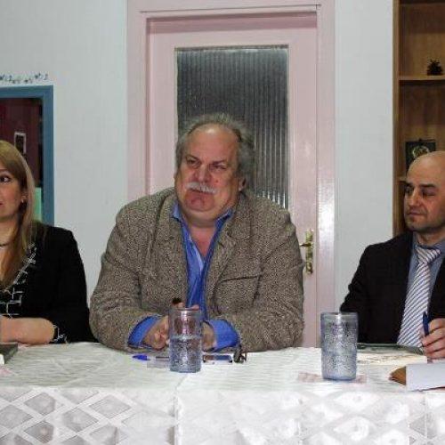 """Πραγματοποιήθηκε η παρουσίαση του βιβλίου του Αλέκου Χατζηκώστα  στον """"Προμηθέα"""""""