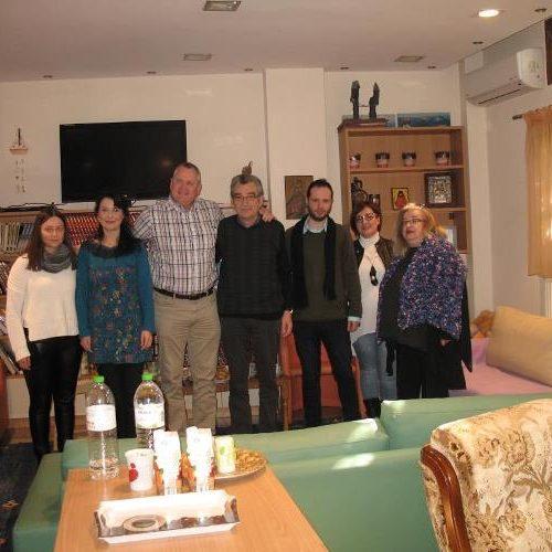"""Επίσκεψη του Διευθυντή του Huntsviile Alabama-USA Advocacy Center στην """"Πρωτοβουλία για το Παιδί"""""""