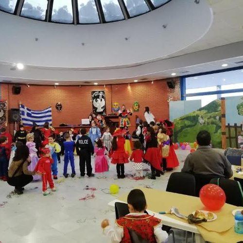 Ο αποκριάτικος χορός της  Εύξεινου Λέσχης Βέροιας