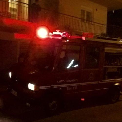 Φωτιά σε καμινάδα τζακιού της Βέροιας - Άμεση η επέμβαση της Πυροσβεστικής