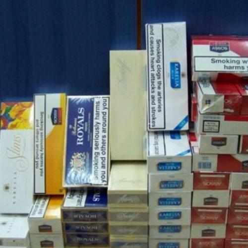 Σύλληψη 58χρονου για λαθραία τσιγάρα και καπνό στη Βέροια