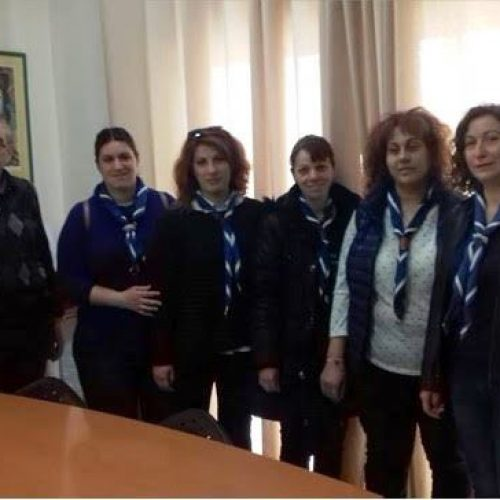 """Επίσκεψη κλιμακίου 2ου Συστήματος Αεροπροσκόπων Βεροίας  στην """"Πρωτοβουλία για το Παιδί"""""""