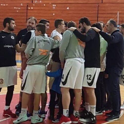 Μπάσκετ: Νίκησαν τον πρωτοπόρο ΦΟ Αριδαίας οι Αετοί και τώρα...τελικός