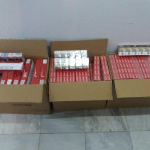 Σύλληψη  δύο 19χρονων για 1500 πακέτα   λαθραίων τσιγάρων
