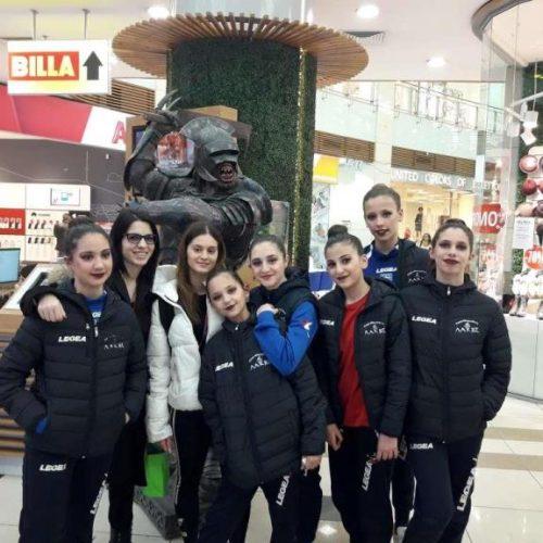 Συμμετοχή  της ομάδας Αισθητικής Γυμναστικής του Φίλιππου Βέροιας στο Παγκόσμιο Πρωτάθλημα