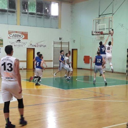 Μπάσκετ: Νίκη για τους Αετούς Βέροιας στη Νάουσα