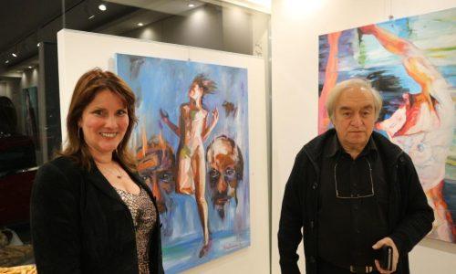 Παρατείνεται η έκθεση  του ζωγράφου Στέλιου Ζαχαρούδη στη Θεσσαλονίκη