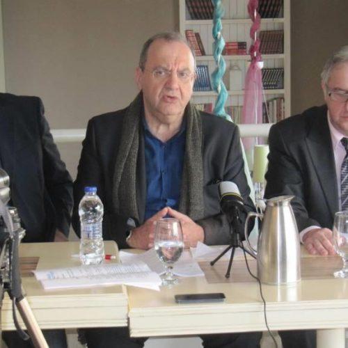 """Ο Δημήτρης Στρατούλης στη Βέροια: """"Η ΛΑΕ δεν αντιστέκεται μόνο - Η ΛΑΕ έχει πρόταση"""""""